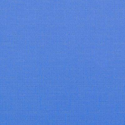 gładka - len - niebieski