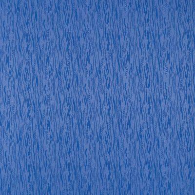 żakardowa - lazur - ciemno niebieski