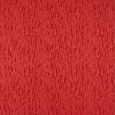 żakardowa - lazur - czerwony