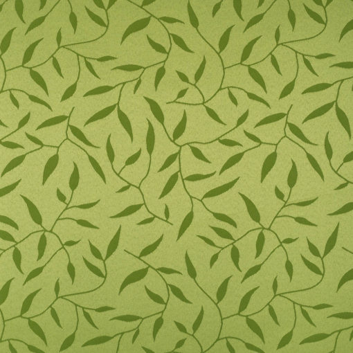 żakardowa - natura - ciemna zieleń