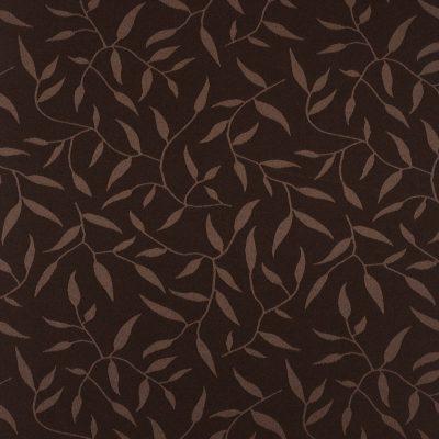 żakardowa - natura - ciemny brąz