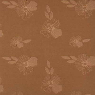 żakardowa - szmaragd - brąz