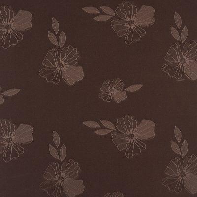 żakardowa - szmaragd - ciemny brąz
