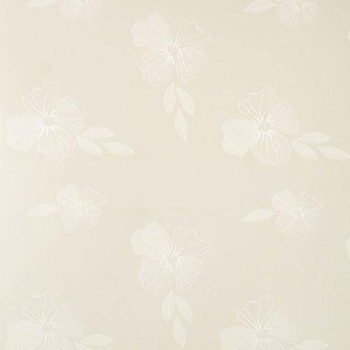żakardowa - szmaragd - krem