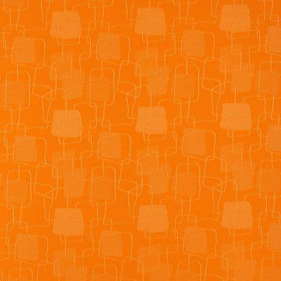 żakardowa - topaz - pomarańcz